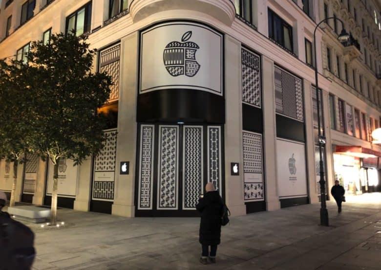 Pierwszy Apple Store w Austrii (Wiedeń, Kärntner Straße 11)