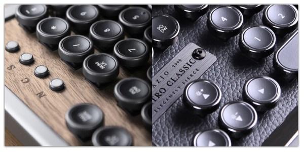 Klawiatury Azio Retro Classic inspirowane maszynami do pisania