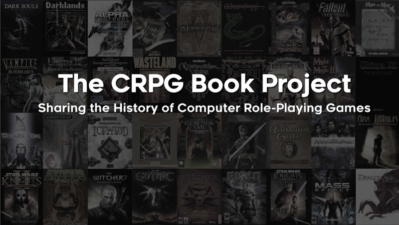 The CRPG Book Project - Sharing the History of Computer Role-Playing Games