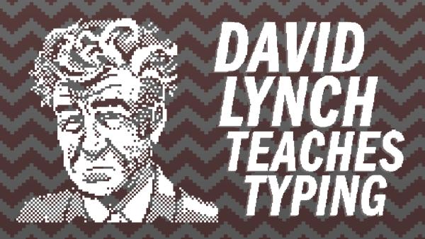 Zabawna nauka pisania na klawiaturze z Davidem Lynchem…