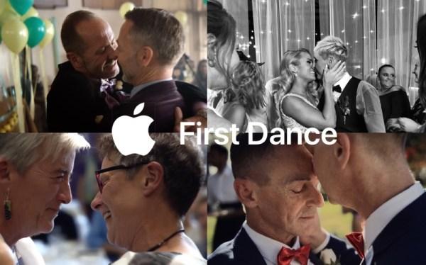 Nietypowy pierwszy taniec w reklamach iPhone'a X