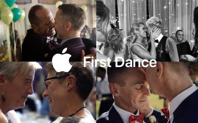 "Apple ""First Dance"" - reklamy iPhone X"