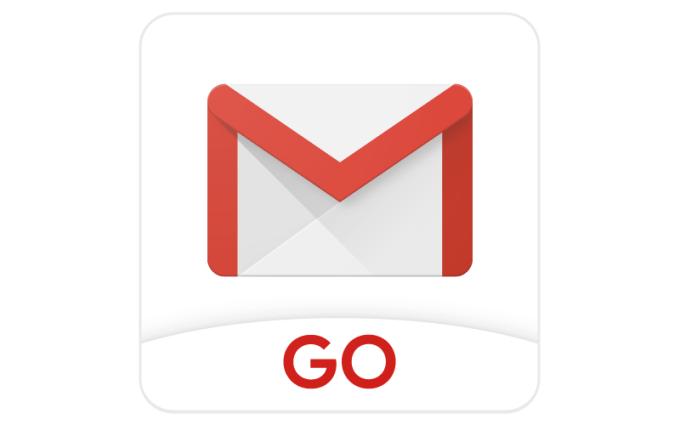 Ikona aplikacji mobilnej Gmail Go