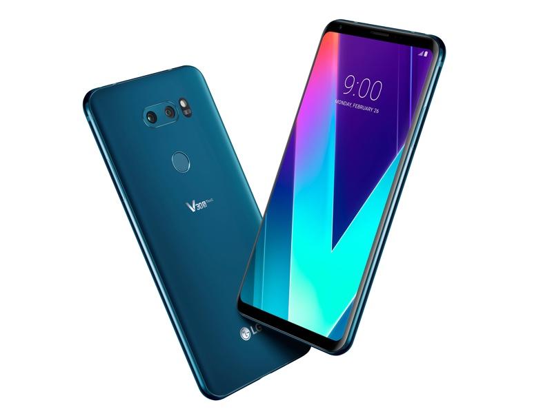 LG V30S ThinQ (Moroccan Blue)