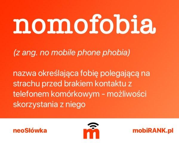 neoSłówka: Co to jest nomofobia?
