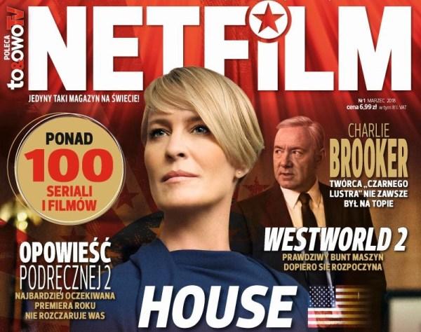 """Magazyn o serialach """"Netfilm"""" to żart, czy nie żart?"""