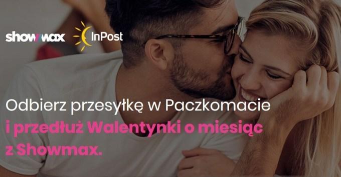 Dostęp do Showmax - promocja Paczkomaty