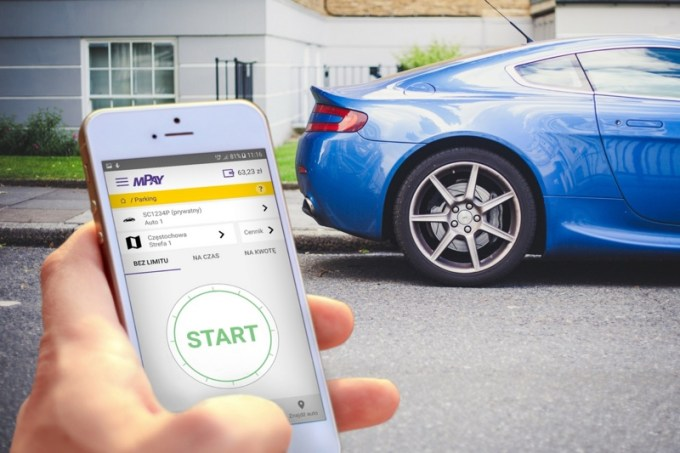 Parkowanie w aplikacji mobilnej mPay