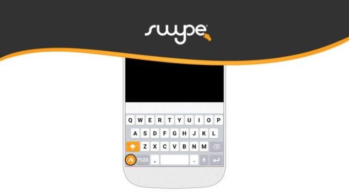 Aplikacja mobilna klawiatury Swype