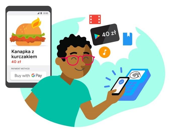 Placac Google Pay Mozesz Zdobyc 40 Zl Na Zakupy W Google Play