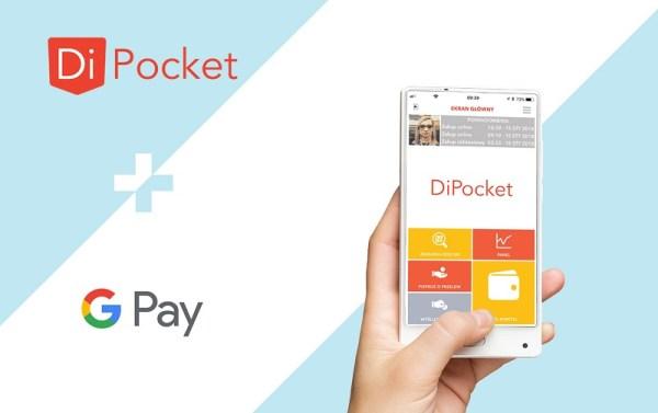 DiPocket udostępniło płatności Google Pay dla klientów w Polsce