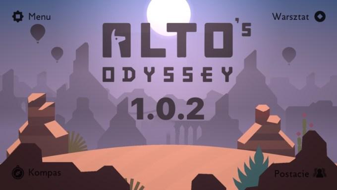 Alto's Oddysey update v. 1.0.2 (iOS, tvOS)