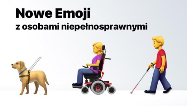 Apple zaproponowało nowe Emoji reprezentujące niepełnosprawności