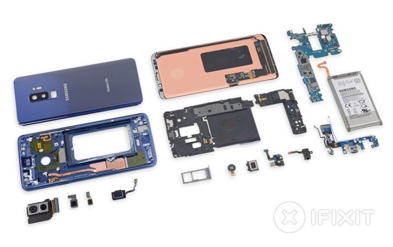 Co jest w środku Galaxy S9+?