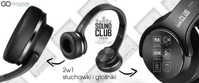 GoClever Sound Club Urban Premium