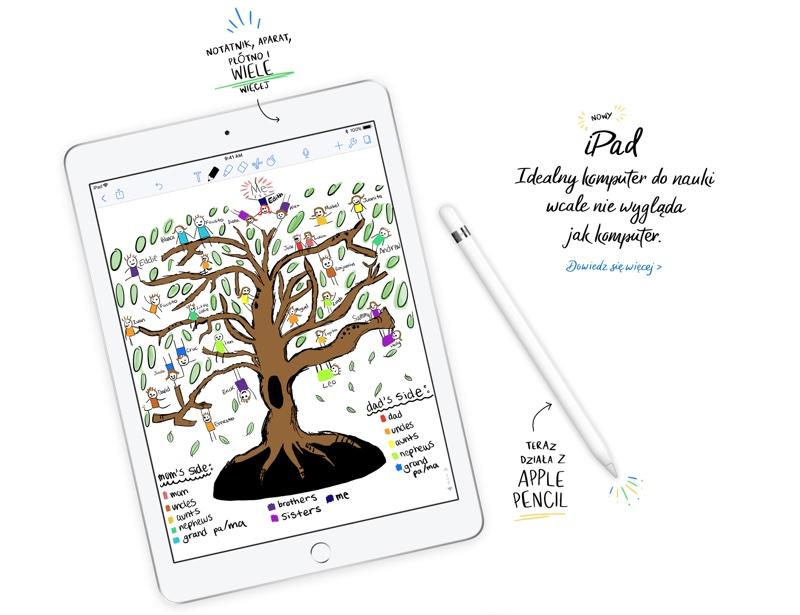 Nowy iPad (6. generacji 2018) ma już iOS 11.3