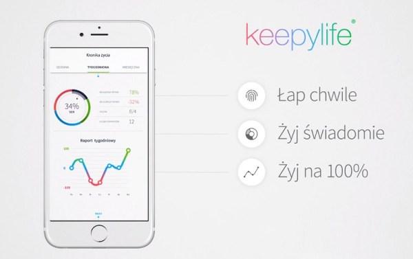 Zmierz jakość swojego życia i poprawiaj ją dzięki raportom Keepylife
