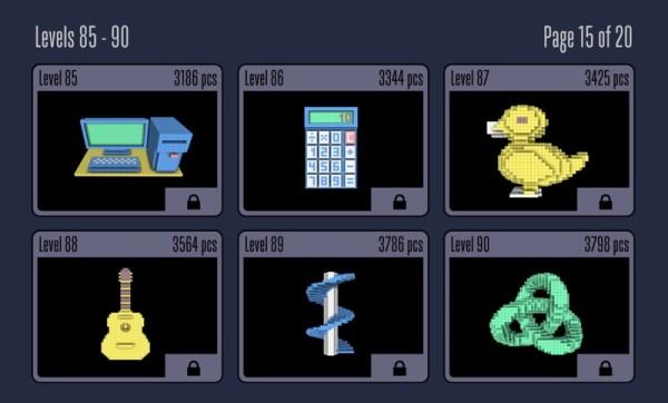 """Sea of Squares"" logiczne morze kwadracików na iOS-a"