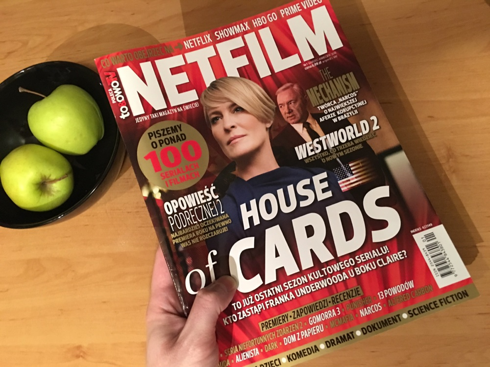 """Magazyn """"Netfilm"""" (numer 1/2018, marzec/kwiecień)"""