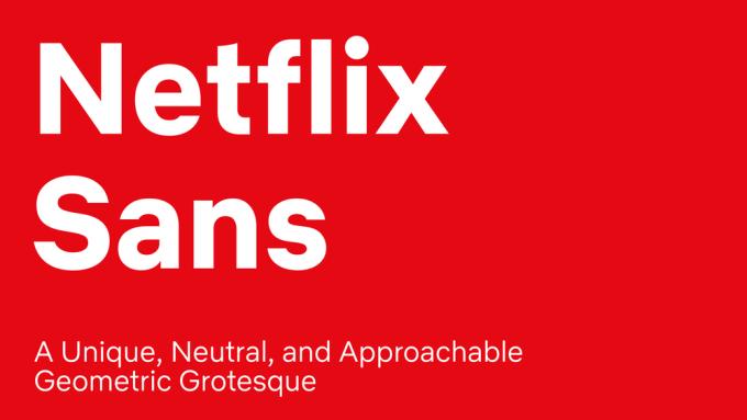 Czcionka Netflix Sans
