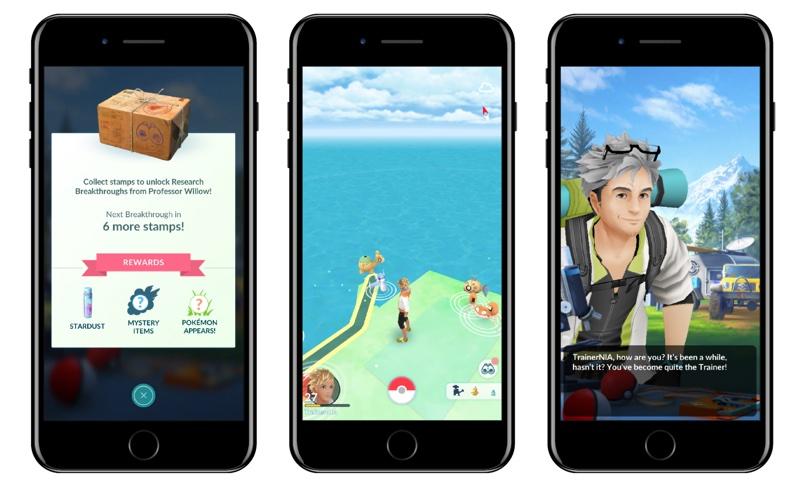 Nagrody za zadania terenowe (Stamps) Pokémon Go