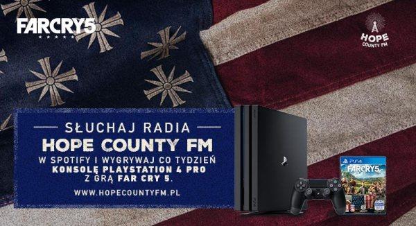 Poznaj świat gry Far Cry 5 w radiu Hope County FM