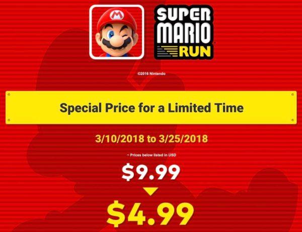 """Super Mario Run 50% taniej od soboty, z okazji """"Mario Day"""""""