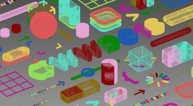 Kolorowa tapeta z motywem WWDC18