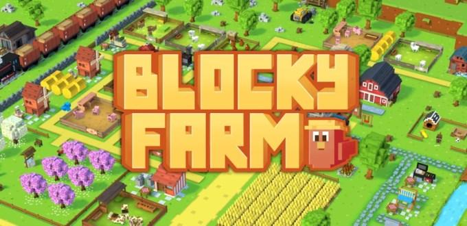 Blocky Farm - logo gry