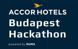 Budapest Hackathon logo - powered by NUMA