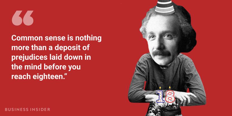 Albert Einstein (cytat)