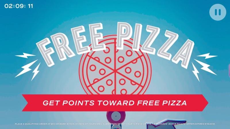 """Darmowa pizza Domino's do wygrania w grze """"Piece of the Pie Pursuit"""""""