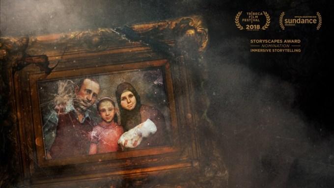 """Film """"Hero"""" VR – obraz z syryjską rodziną"""