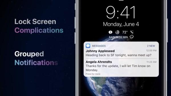 Koncepcja iOS 12 z nowymi ciekawymi funkcjami [wideo]