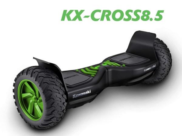 Nowy środek lokomocji miejskiej Kawasaki KX-CROSS8.5 już w Polsce!
