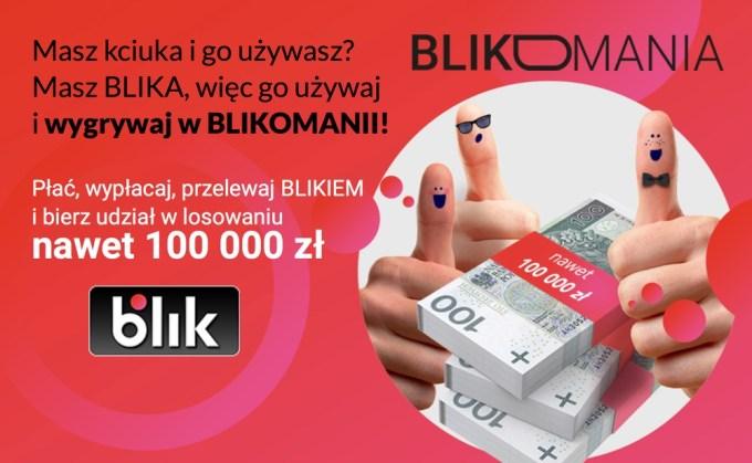 "Loteria ""Blikomania"" (6 kwietnia - 31maja 2018 r,)"