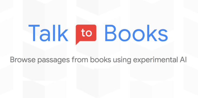 Talk to Books (eksperyment Google)
