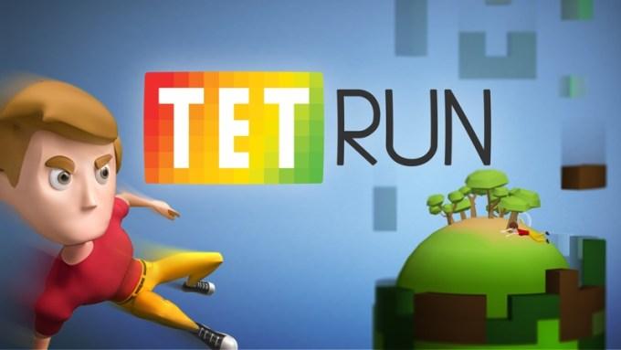 """Gra mobilna """"Tetrun"""" od Cableek Games"""