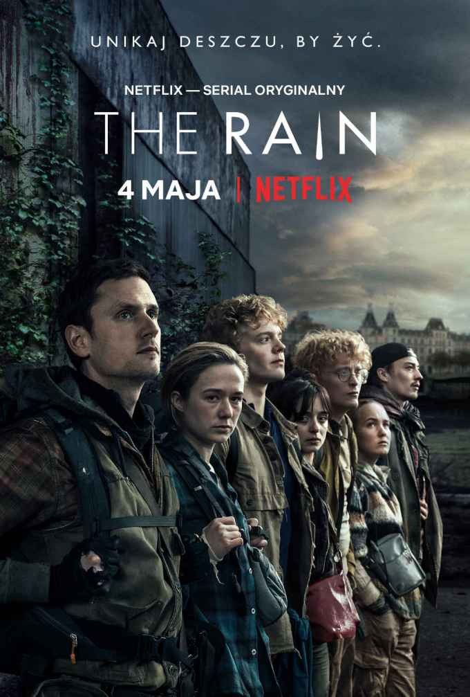 The Rain - plakat serialu (Netflix)