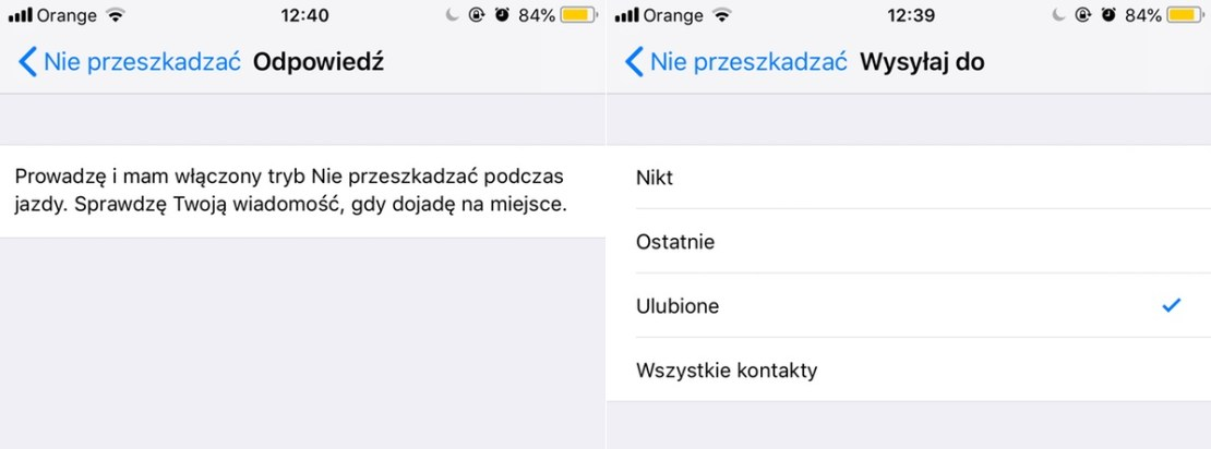 Ustawienia autoodpowiedzi SMS
