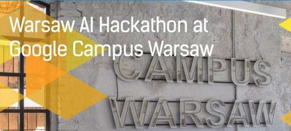 Weź udział w Warsaw AI Hackathon w Google Campus Warsaw