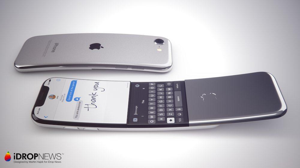Koncept iPhone'a z zakrzywionym ekranem