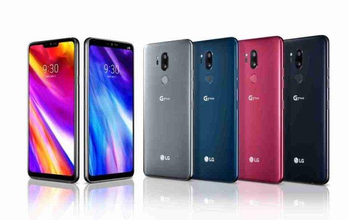 LG G7 ThinQ w czterech wersjach kolorystycznych
