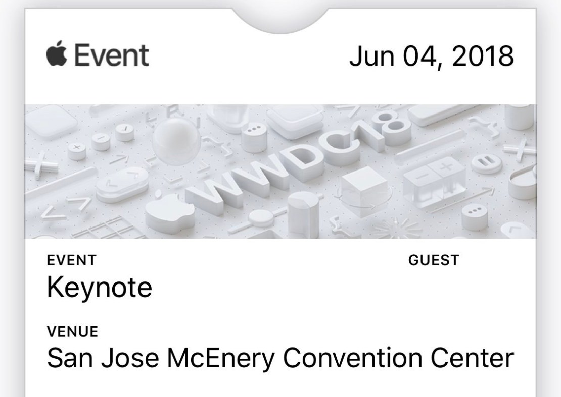 Apple WWDC 2018 - zaproszenie, media