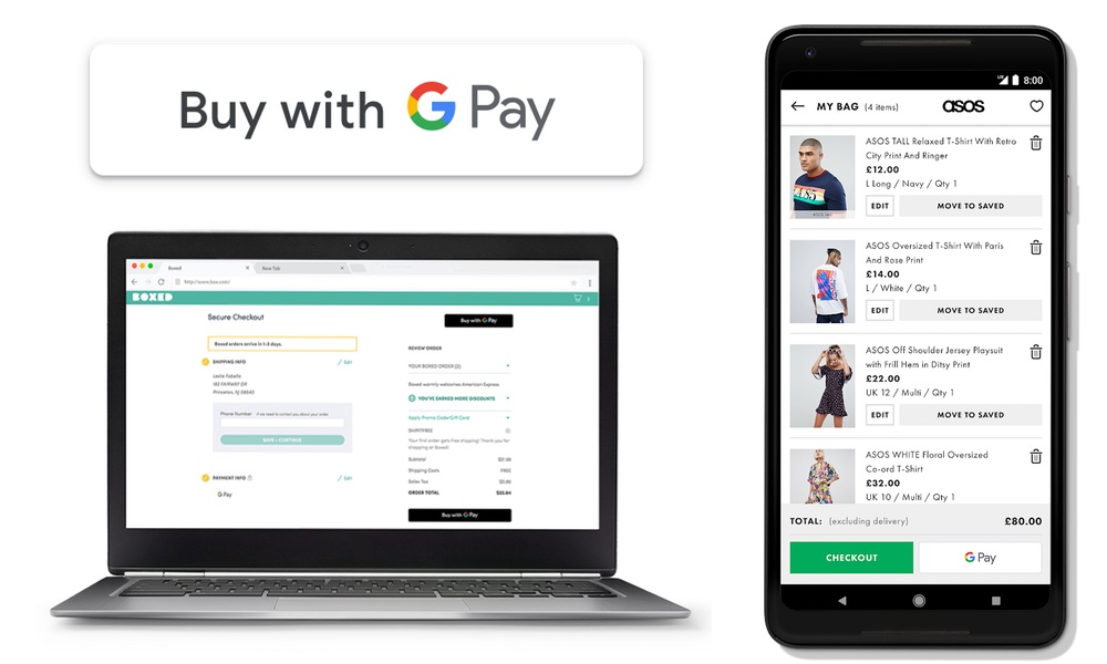 Buy with GPay (internet i iOS)