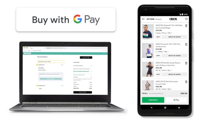Buy with GPay (internet i iOS)