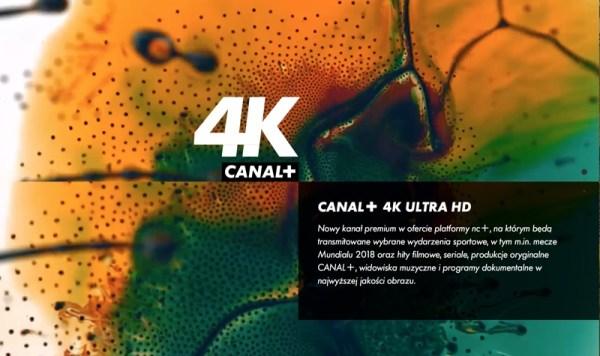 Wystartował program CANAL+ 4K Ultra HD