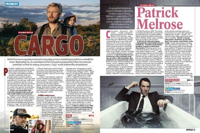 Cargo i Patrick Melrose w Netfilmie