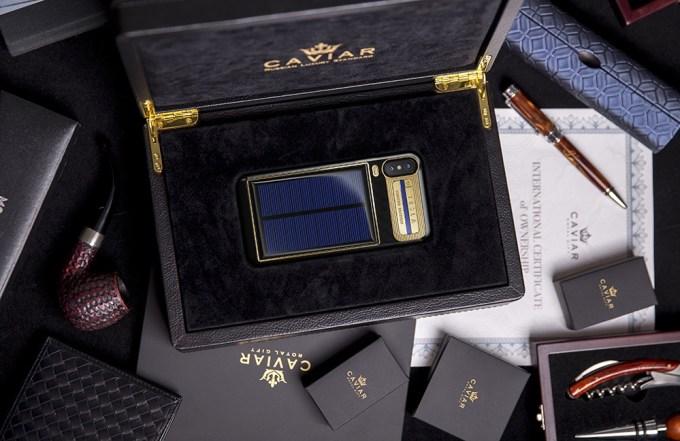 iPhone X Tesla Limited Edition w skrzynce (od Caviar)