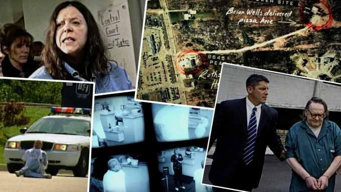 "Kadry z serialu dokumentalnego ""Evil Genius"""